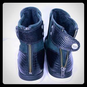 UGG booties in black